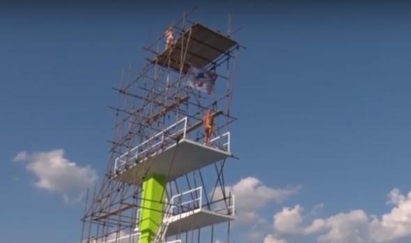 Visinski skokovi u vodu: Najbolji Danac Džimi Andersen (VIDEO)