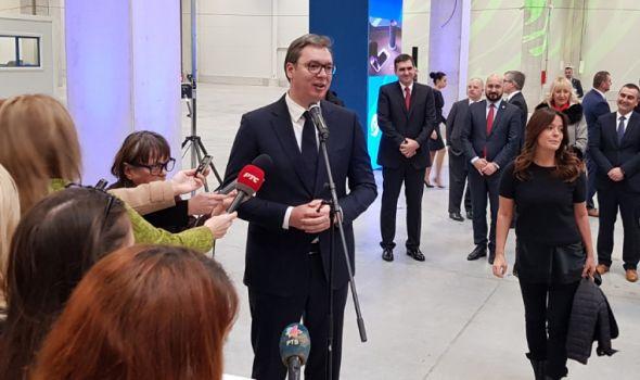 Vučić: Očekujem važne vesti za Fiat