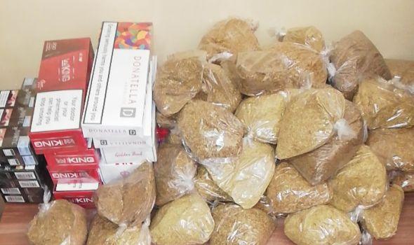 Policija kod Kragujevčanina u automobilu i kući pronašla 43 kilograma rezanog duvana i 580 paklica cigareta