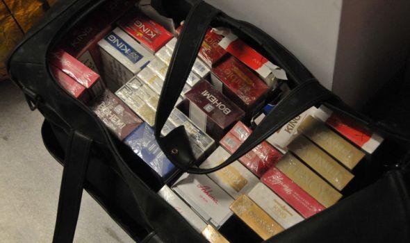 Poreska uprava: U Kragujevcu zaplenjene 1.122 paklice cigareta bez akciznih markica