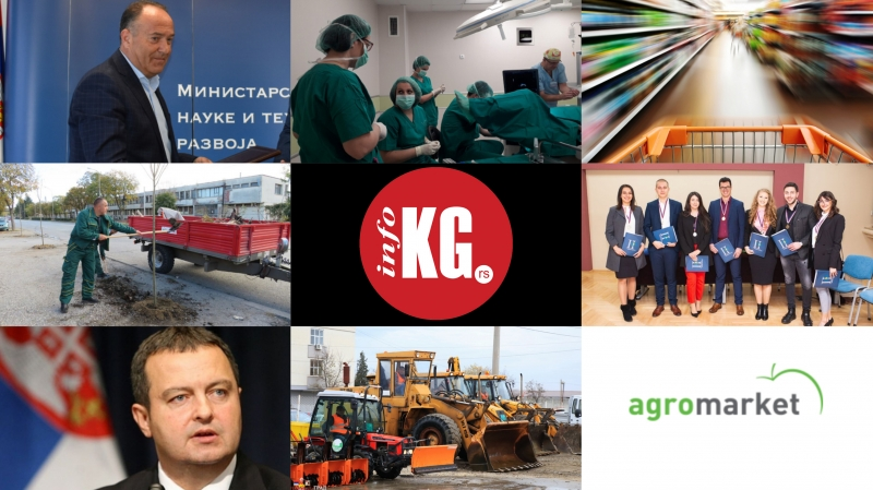InfoKG 7 dana: Zabrana, vantelesna oplodnja, trgovine, samoubistvo, studenti prava, SPS, Agromarket...