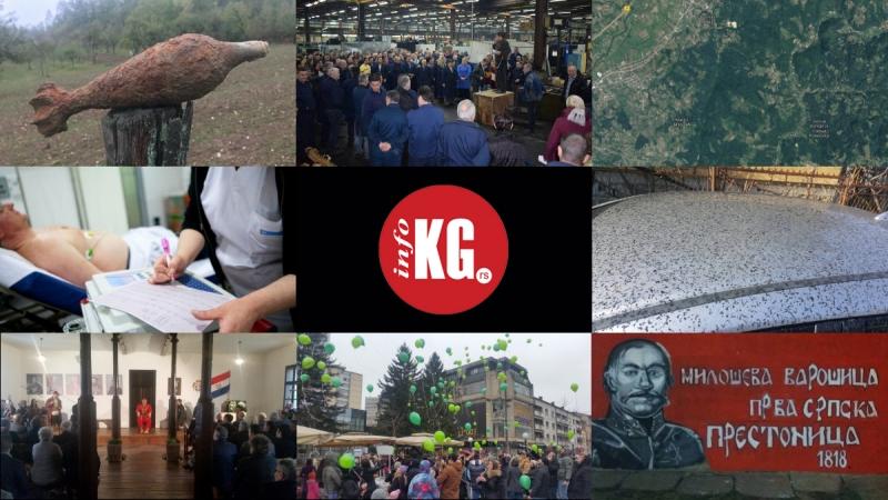 "InfoKG 7 dana: Bombe, bonus, Vitlište, medicinska sestra, ""crni sneg"", mural…"