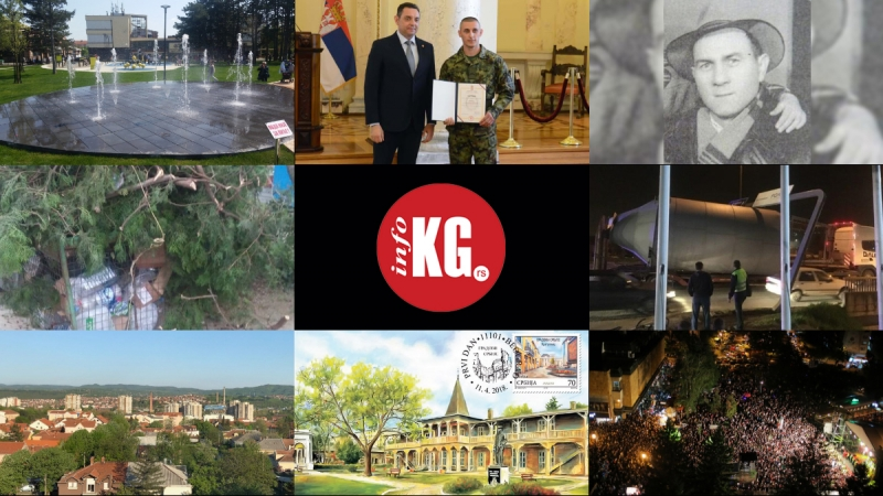 InfoKG 7 dana: Kreativni park, ginisovac, silos, porez, poštanske marke, Đurđevdan…