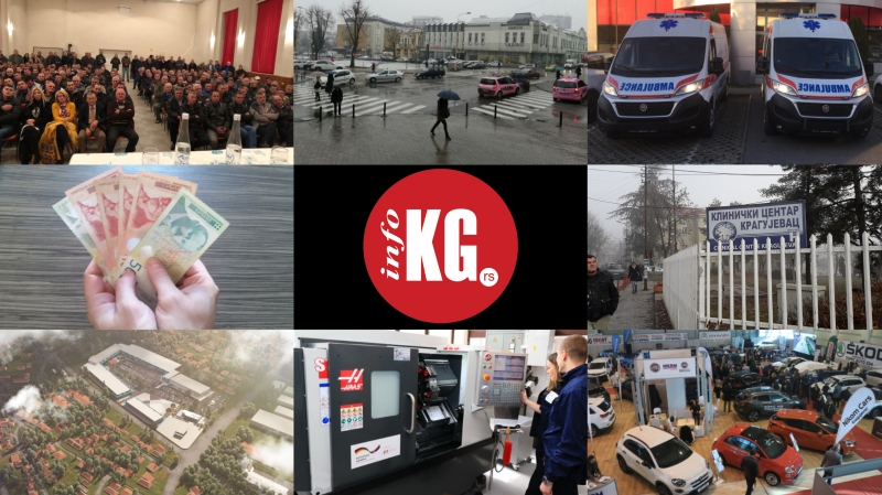 InfoKG 7 dana: Verko, sneg, Hitna pomoć, plate, posao, Raj park, CNC, Auto expo 2019...
