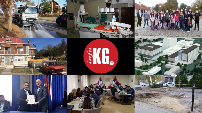 InfoKG 7 dana: Cisterna, kardiologija, inkluzivno igralište, knjige, novi KC…