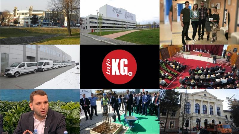 "InfoKG 7 dana: Hala ""Jezero"", vozni park, poslovnik, utaja, Mind park, Prva gimnazija…"