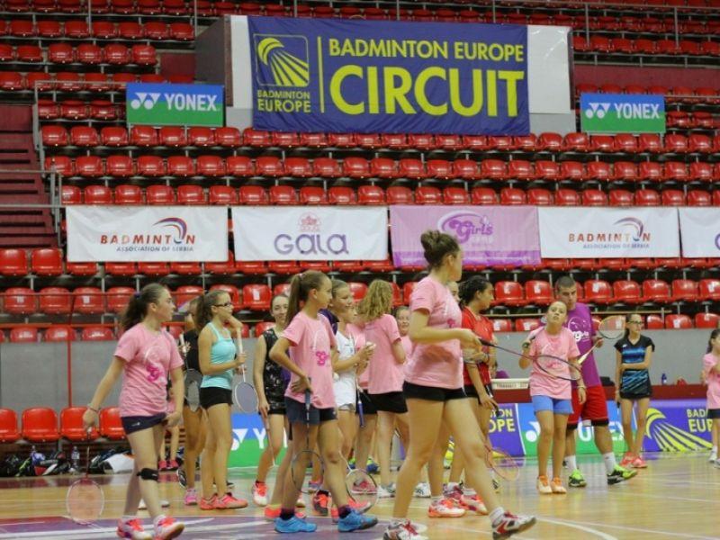Girls Camp Serbia 2017: Rekordan broj učesnica na međunarodnom badminton kampu u Kragujevcu