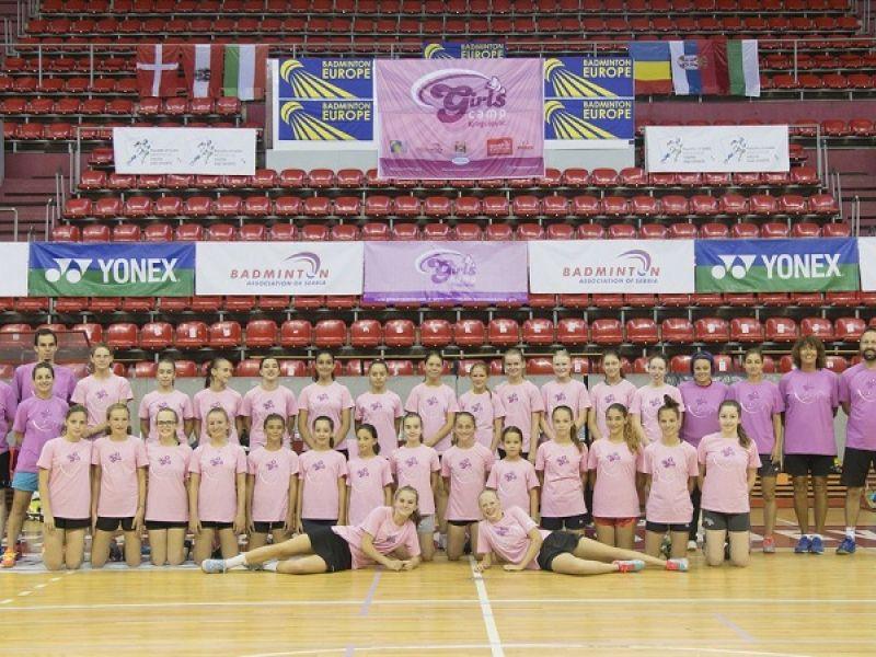 Girls Project 2019: Šest evropskih badminton nacija na devetom međunarodnom kampu u Kragujevcu