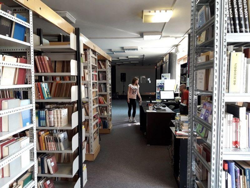 Biblioteka ZATVORENA dve nedelje, nakon toga LETNJE RADNO VREME