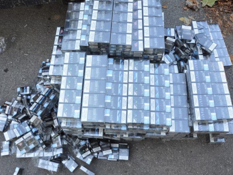 """Kragujevčanin """"pao"""" zbog 12.500 paklica cigareta i ručno pravljene radio stanice"""