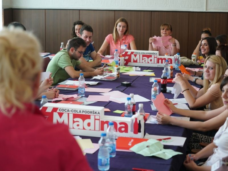 Coca-Cola pomaže mladim Kragujevčanima da se zaposle