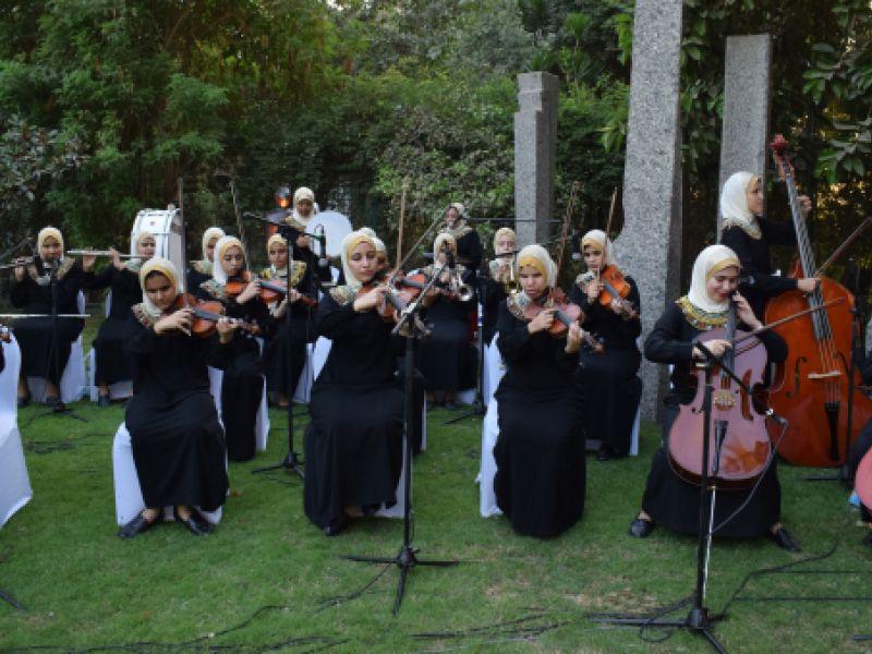 "Kamerni orkestar iz Egipta ""Al Nour Wal Amal"" u Drugoj kragujevačkoj gimnaziji"