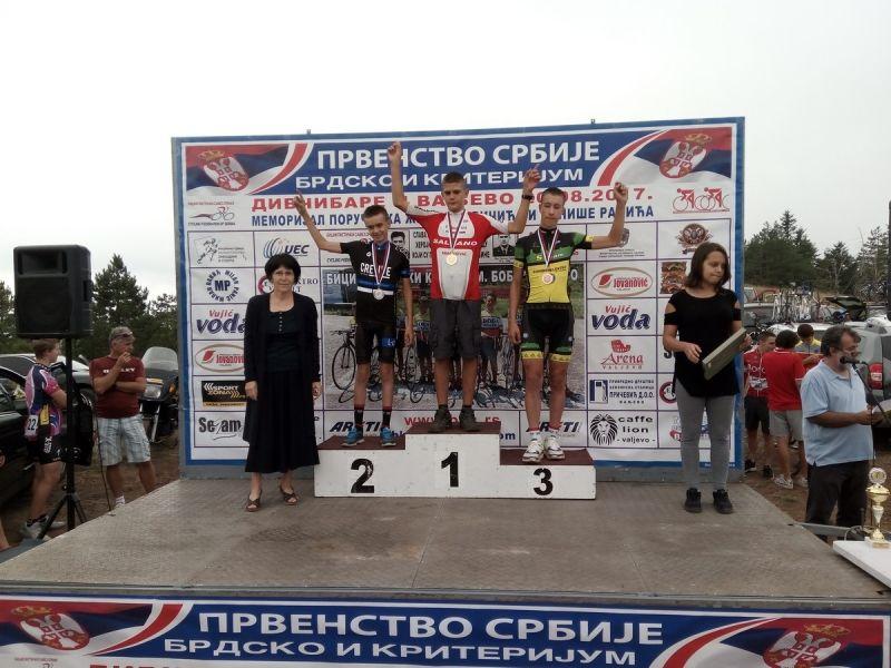 """Biciklistima """"Radničkog"""" 10 medalja u Valjevu (FOTO)"""