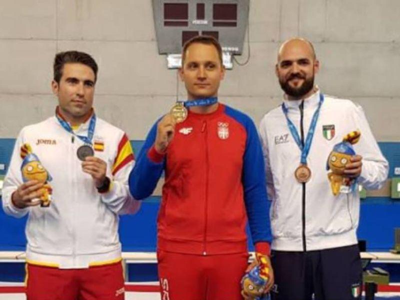 Stefanović se okitio zlatom u Španiji