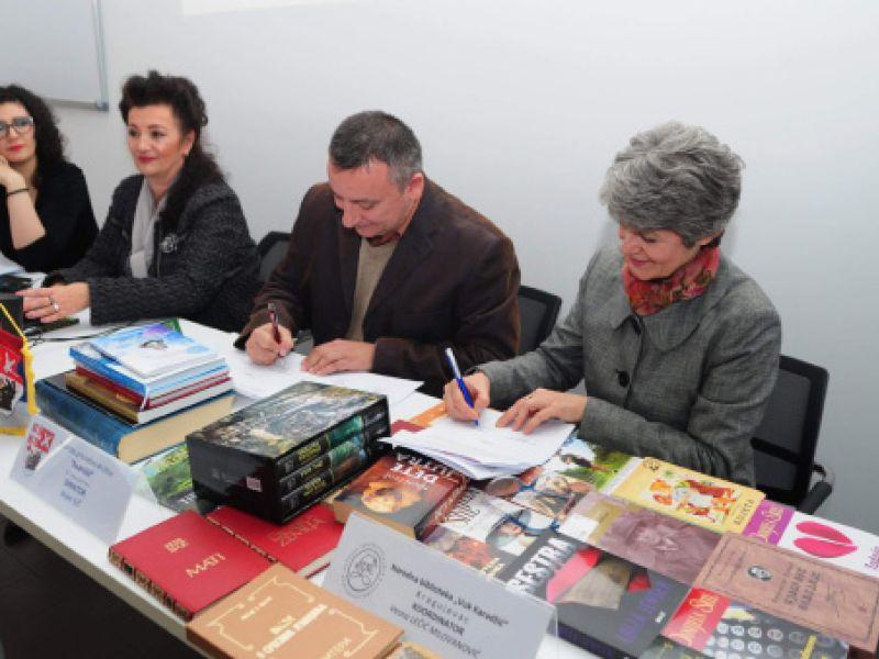 "Osnovan ogranak biblioteke ""Vuk Karadžić"" u ""Iskri"""