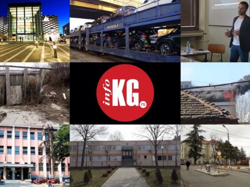 InfoKG 7 dana: Požar, Fiat, Industrijska zona, Hipodrom, KC, Tirnanić, Plaza...