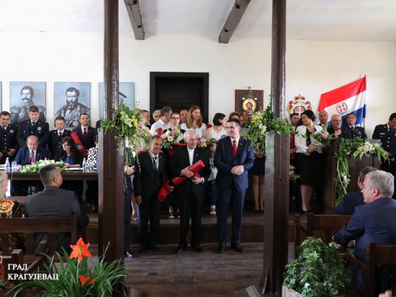 KRAGUJEVAC PRVA PRESTONICA: Svečana sednica u Staroj skupštini, uručene Đurđevdanske nagrade (FOTO)
