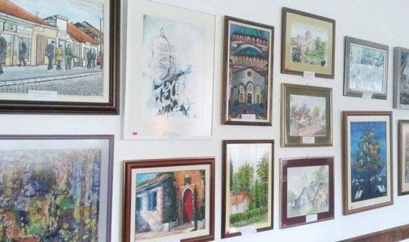 """Novogodišnja izložba kragujevačkih umetnika u galeriji """"Art"""""""