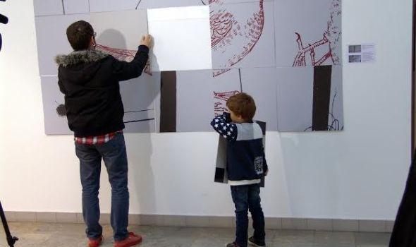 """Grafičke instalacije """"Pro nihilum"""" u Narodnom muzeju"""