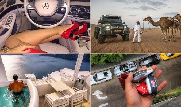 Bahanalije sa Instagrama: Život milionera u slikama