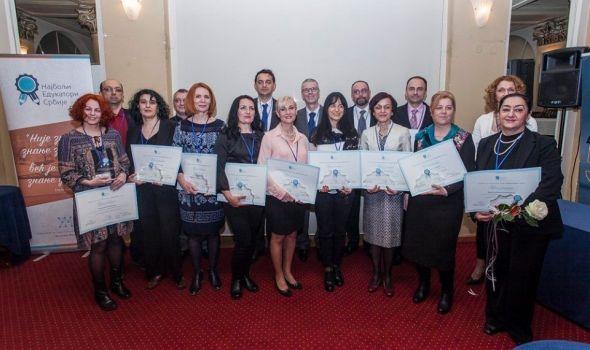 Nastavnica Prve kragujevačke gimnazije među najboljim edukatorima Srbije