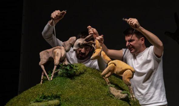 Bambi: Prva repriza najnovije predstave u Pozorištu za decu