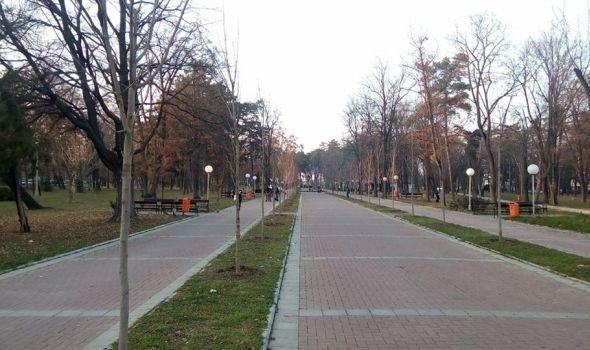 Veliki park dobija novi izgled: Od proleća u crveno-zelenim bojama