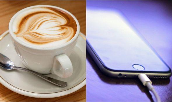 Napunite telefon vrućom kafom