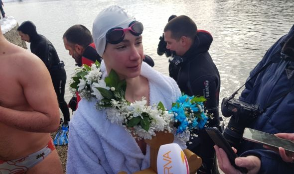 FILIP MILIVOJEVIĆ nosilac Bogojavljenskog krsta Šumadije 2021. (FOTO)