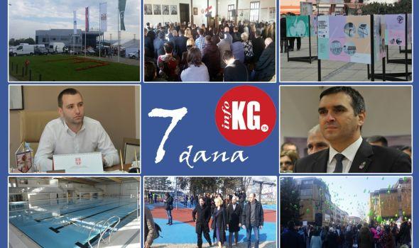 InfoKG 7 dana: 20 sajmova, besplatno plivanje, Sretenje, podrška Vučiću, sprema se smena gradonačelnika, novo igralište u Velikom parku…
