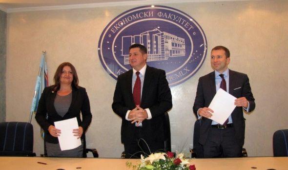 Ekonomski fakultet ozvaničio saradnju sa Vojvođanskom bankom