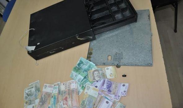 Ukradenim pištoljem pretio i odneo fioku s parama iz prodavnice