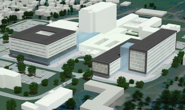Pogledajte kako će izgledati novi Klinički centar, radovi od septembra (FOTO)