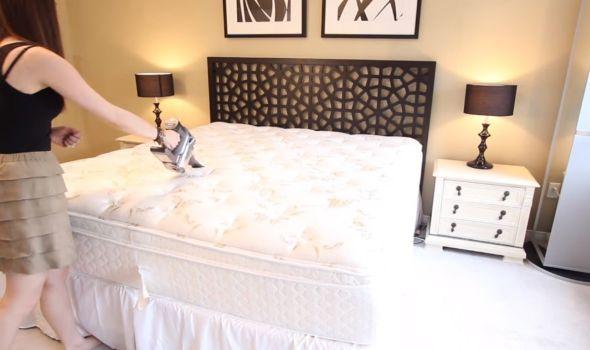 Očistite temeljno krevet od bakterija!