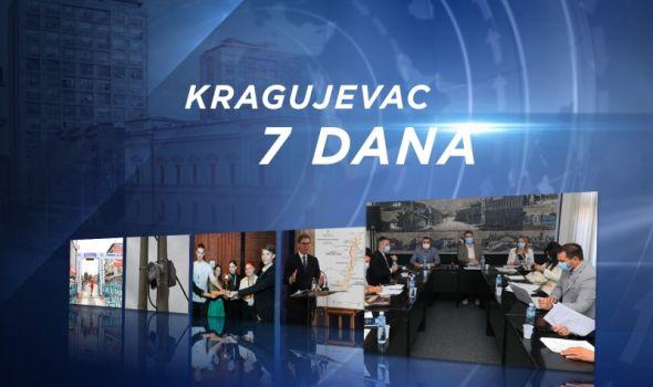 InfoKG 7 dana: Video nadzor u gradu, investicije od 270 miliona €, većnici na 30% radnog vremena…