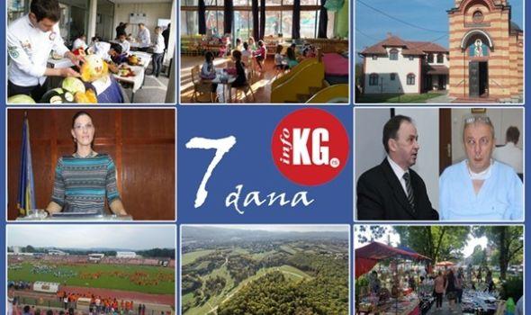 """InfoKG 7 dana: Kulinari trijumfovali u Bugarskoj, otvoren Dnevni boravak u Maršiću, policija dobila načelnicu, dekan udario na hirurga, """"Rastimo uz ples""""…"""