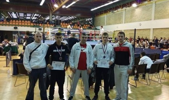 "Kik-bokserima ""Radničkog"" bronzane medalje"