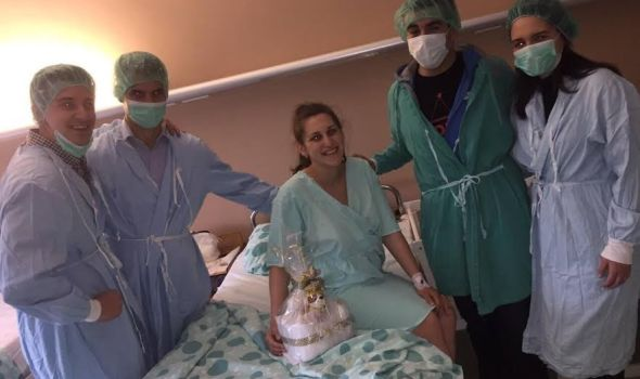 Rotarakt darivao prvorođenu bebu na Uskrs (FOTO)