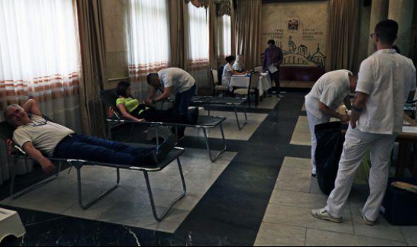 Velika dvodnevna akcija dobrovoljnog davanja krvi u zgradi Gradske uprave