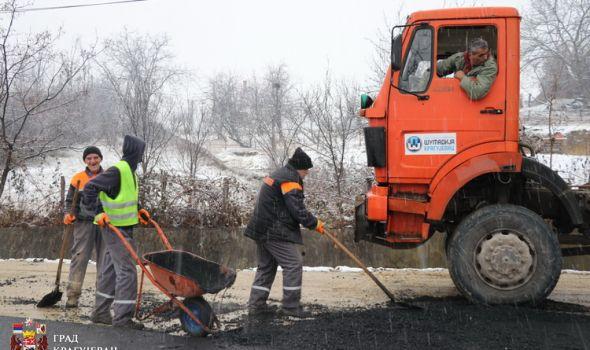 Asfaltiran deo ulice Užičke republike, u planu proširenje raskrsnice