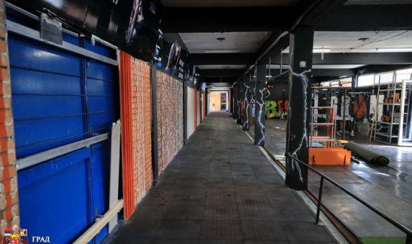 Atletski tunel se vraća prvobitnoj nameni, dobija i peščanu jamu i deo za rvače