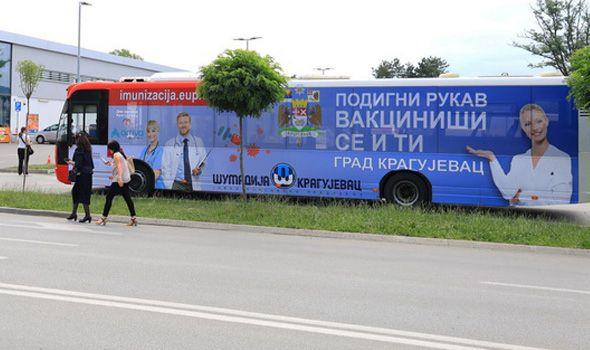 Vakcinisano gotovo 73.000 Kragujevčana