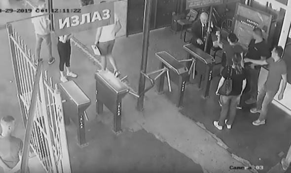 EKSKLUZIVNO: SNIMAK NADZORNIH KAMERA incidenta na autobuskoj stanici, oglasila se firma koja radi obezbeđenje