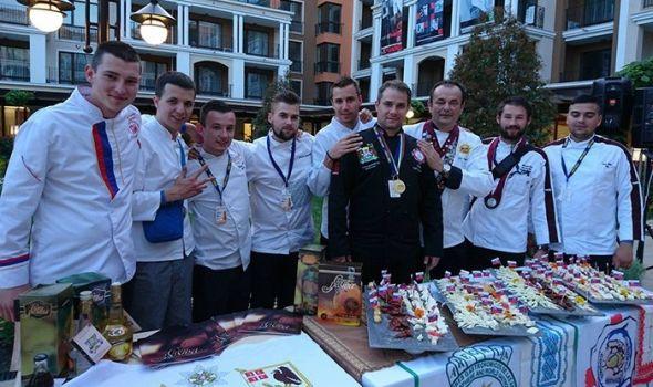 Kragujevački kulinari osvojili 11 medalja u Bugarskoj (FOTO)