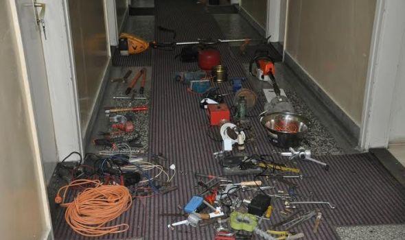 Dolijali: Pohapšeni odmah nakon pljačke kuće