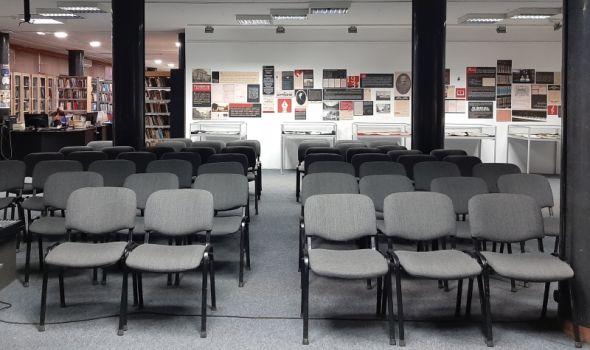 Zbog nepredvidivog toka epidemije BIBLIOTEKA OTKAZALA sve programe osim prodajne izložbe knjiga