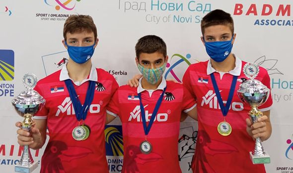 "Istorijski uspeh Badminton kluba ""Ravens KG"" na internacionalnoj sceni (FOTO)"