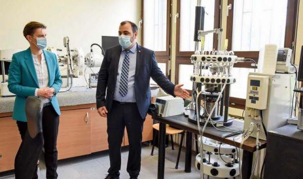 Premijerka pozvala Univerzitet u Kragujevcu da konkuriše za MASTER PROGRAM VEŠTAČKE INTELIGENCIJE
