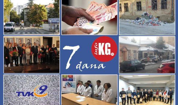 "InfoKG 7 dana: Kragujevac dobija novi Klinički centar, otvoren konkurs za Đurđevdanske nagrade, borba zaposlenih u Institutu za javno zdravlje, uhapšen pucač iz ""Bahusa""…"