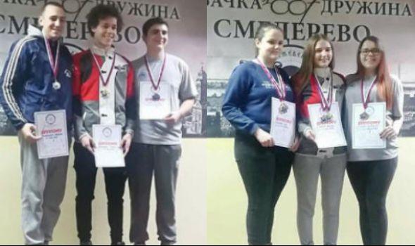 """Strelcima """"Čika Mate"""" pet medalja u Smederevu"""